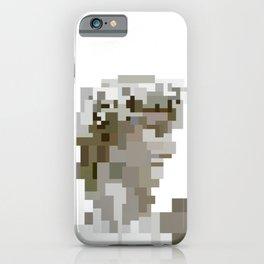 Low res David pixelart 8 Bit Mosaic iPhone Case