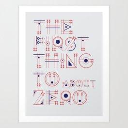 CS Zero Art Print