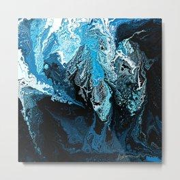Waves of Illusion Metal Print