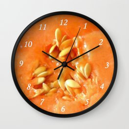 Melon Nature Wall Clock