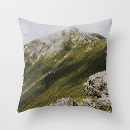 Summer days on the Franconia Ridge Throw Pillow
