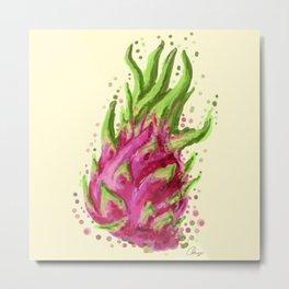Dragon Fruits Metal Print
