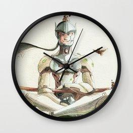 Genji Watercolour Wall Clock