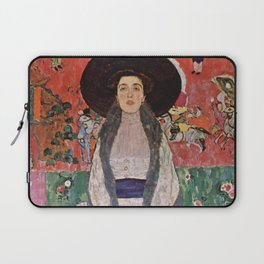 "Gustav Klimt ""Portrait of Adela Bloch-Bauer"" II Laptop Sleeve"