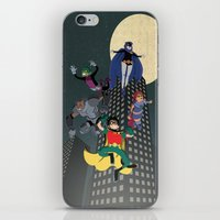 teen titans iPhone & iPod Skins featuring Teen Titans by Fuacka
