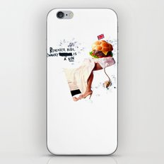 Burgery is a Sin iPhone & iPod Skin