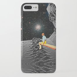 unknown pleasures to Infinity iPhone Case