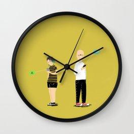 (anti)-Social Interaction Wall Clock