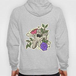 Flowery Vertebrae Hoody
