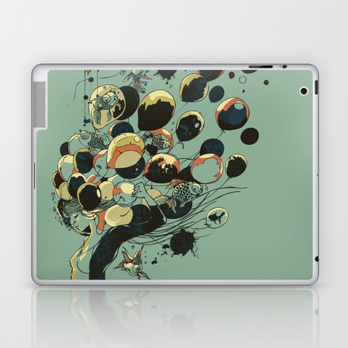 Floating Memories Laptop & iPad Skin