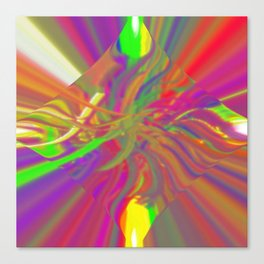 Tripped out Canvas Print