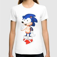 sonic T-shirts featuring SONIC  by i live