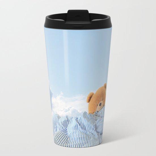 Sweet Dreams - Teddy Bear's Nap Metal Travel Mug
