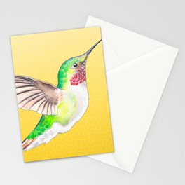 Hummer Yellow Stationery Cards