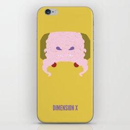 Krang - Dimension X iPhone Skin