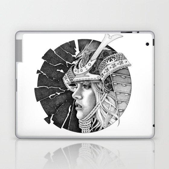 samurai passion Laptop & iPad Skin
