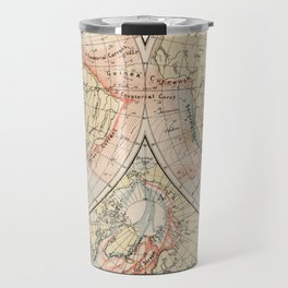 Vintage World Ocean Currents Map (1905) Travel Mug