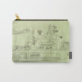 The USS Ryan Carrier Carry-All Pouch