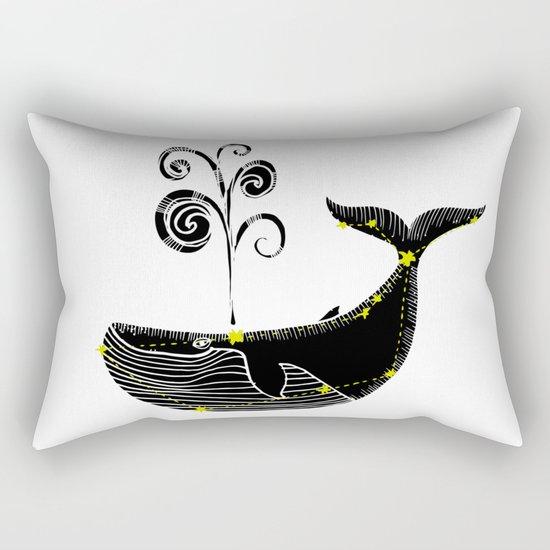 Whale Constellation Rectangular Pillow