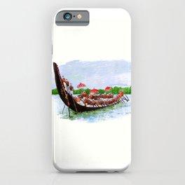 Snake Boat Race- Kerala - 135 iPhone Case