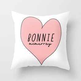 Bonnie McMurray Throw Pillow