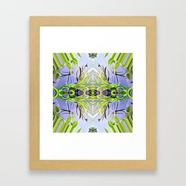 Center of Balance Framed Art Print