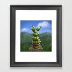 Rabbactus Framed Art Print
