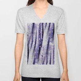 Purple Beech Unisex V-Neck