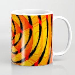 Vibrant tigerlike abstract Coffee Mug