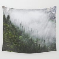 fog Wall Tapestries featuring Fog by Celestine Aerden