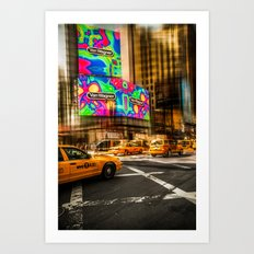 New York - Van Wagner Art Print