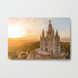 Templo del Sagrado Corazón de Jesús Metal Print
