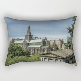 Glasgow Cathedral Rectangular Pillow