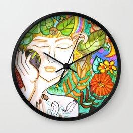 Earth Awakening Wall Clock