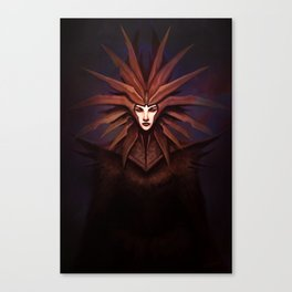 The Lady of Pain Canvas Print