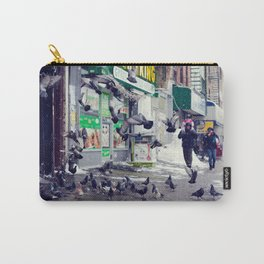 Brooklyn Birds Carry-All Pouch