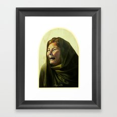 Maria Framed Art Print