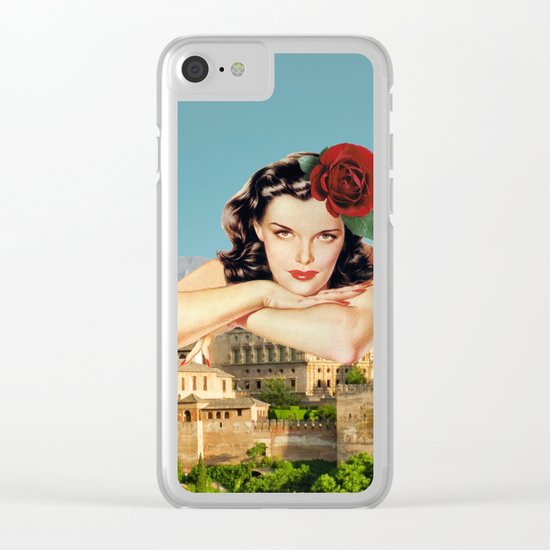 MI ALHAMBRA  Clear iPhone Case