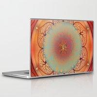 chakra Laptop & iPad Skins featuring Sacral Chakra by brenda erickson