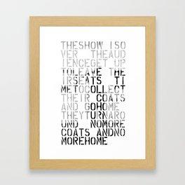 Recycled Idea Framed Art Print