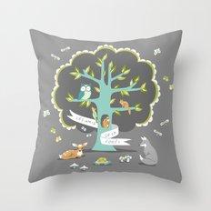 Les Amis - Dusk Throw Pillow