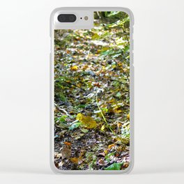 Undergrowth (2017) Clear iPhone Case