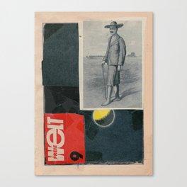 Freie Welt Canvas Print