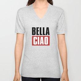 Bella Ciao Unisex V-Neck
