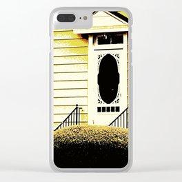 Front Door 927 Clear iPhone Case