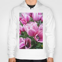 tulips Hoodies featuring tulips by Liudvika's Lens