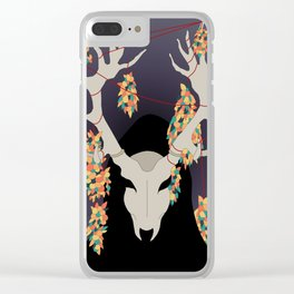 Antler Clear iPhone Case
