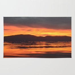 Spinal Sunset Rug