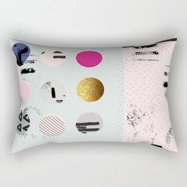 Pastel Hues Rectangular Pillow