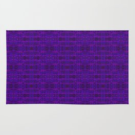 Ultra-Violet Weave, abstract pattern Rug